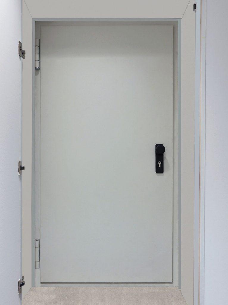 """Feuerbeständige einflügelige Wandklappe T 90-1-(RS)-FSA """"Schwarze FE"""""""